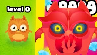 IS THIS THE HIGHEST LEVEL CAT CREATURE EVOLUTION?  (9999+STRONGEST UPGRADE)l Cat Evolution New Game