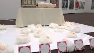 2014年 東京都美術館 新象展にて、展示風景です。 新象展 展賞 損保ジャ...