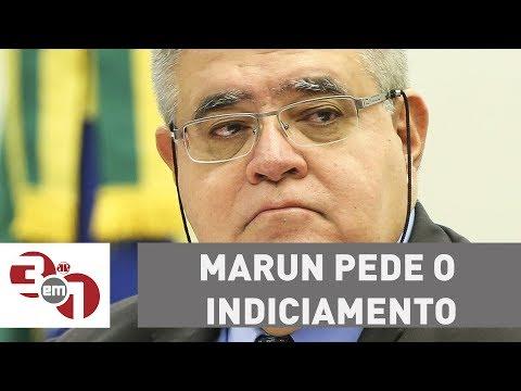 Marun pede o indiciamento de Janot na CPI da JBS