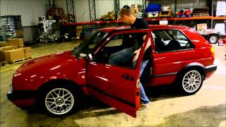 Overhaulin my sons 1992 VW Golf