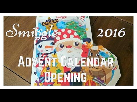 Smiggle Stationery Advent Calendar opening 2016 *Spoiler Alert*