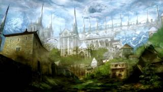 Medieval fantasy world of perfect