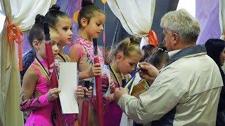 Міжнародний турнір із художньої гімнастики відбувся у Борисполі – змагалися 40 команд