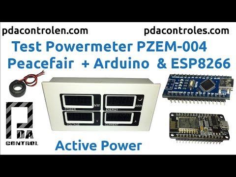 Power Meter PZEM 004 Peacefair + Arduino & ESP8266 : PDAControl