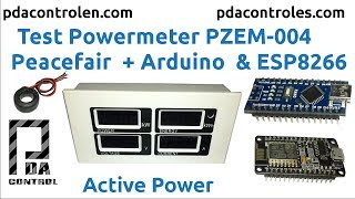 Power Meter PZEM 004 Peacefair + Arduino & ESP8266 : PDAControl