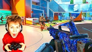 Little kid learns aimbot hack in call of duty... (BO3 Funny Moments)