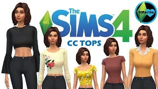 THE SIMS 4: MAXIS MATCH CC HAUL | #2 - Skinny Jeans, Crop