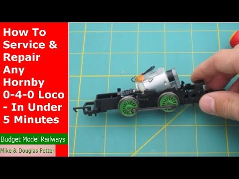 How To Service & Repair Any Hornby 0-4-0 Loco - In Under 5 M