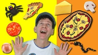 Magic Pizza Song with Matt   Food Song for Children   Learn English Kids thumbnail