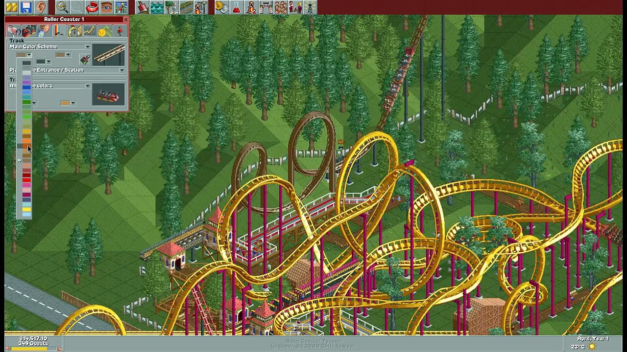 Roller coaster tycoon 3 100 completely free dating site for fat people 6