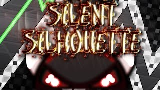 Geometry Dash - SILENT SILHOUETTE - by Huuko - Impossible (Semi-AV)