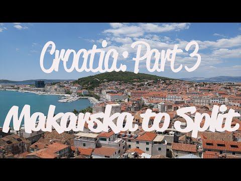 Croatia: Makarska to Split (4K)