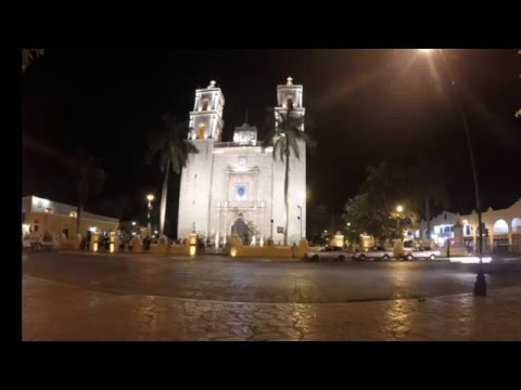 Cathedral of San Gervasio - Valladolid, Mexico - Timelapse