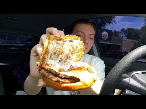 Burger King Mushroom & Swiss King - Food Review