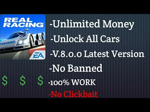 Real Racing 3 Mod Apk Unlimited All, Unlock All Cars 100% Work!!