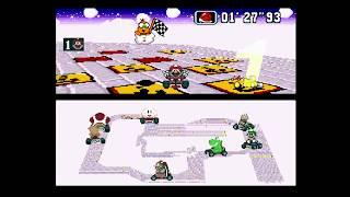 Super Mario Kart R (SNES) - 02 - Flower Cup (50cc, 1st Place)