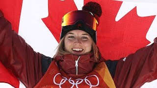 Cassie Sharpe Wins Gold in Ski Halfpipe | Pyeongchang 2018
