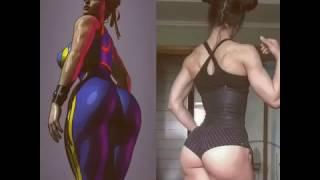 Muscular female sex Sweet ass