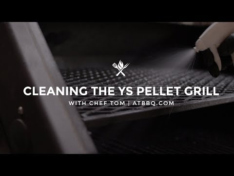 Cleaning the YS640 Pellet Grill