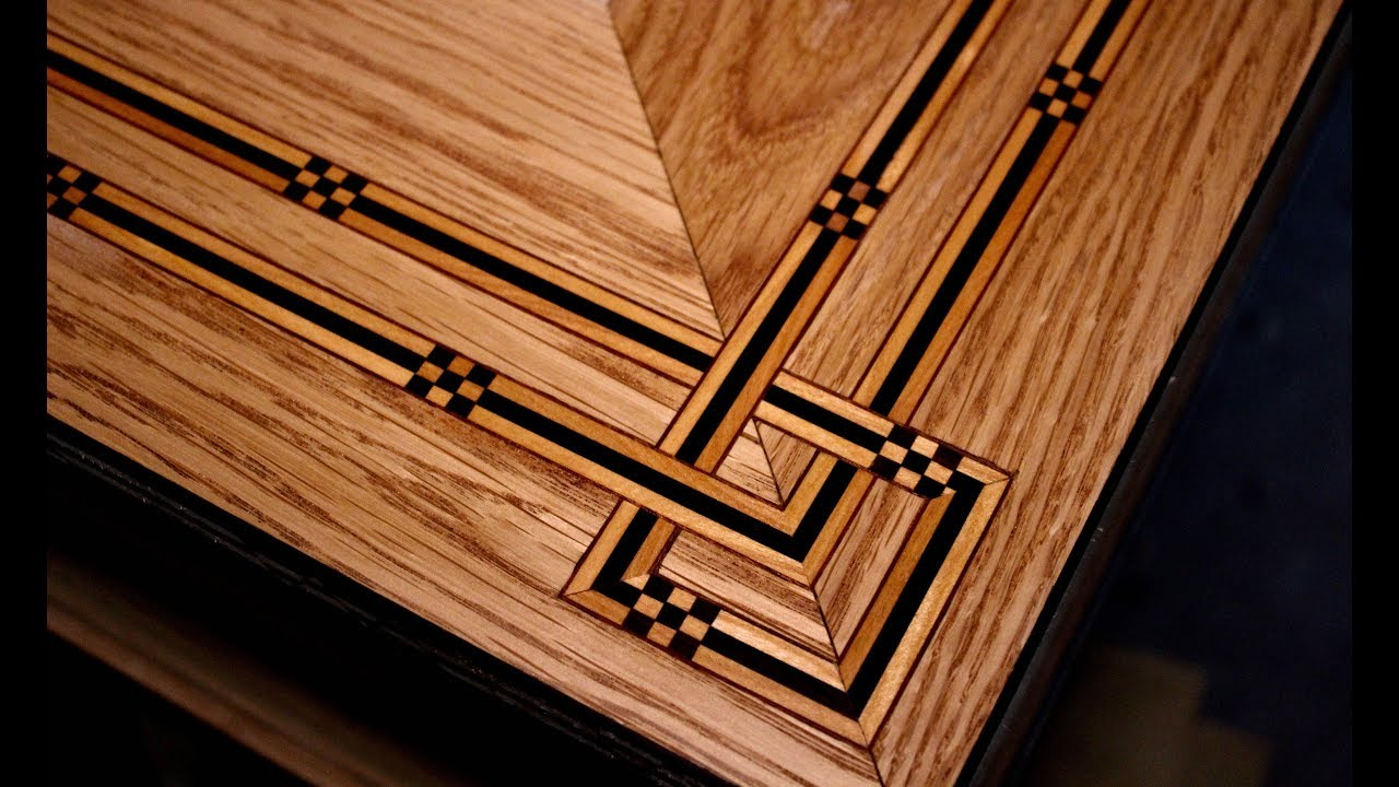 How To Inlay A Table Top (Coffee Table Part 4)   SE Woodwork