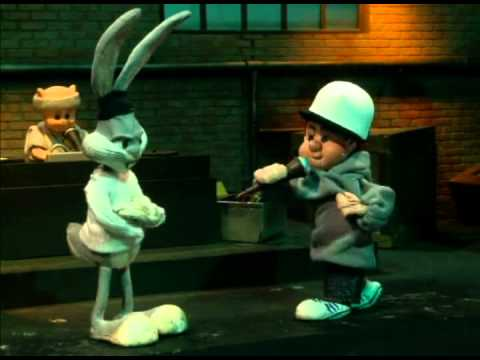 Elmer Fudd VS Bugs Bunny rap battle