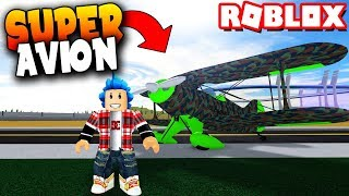 I BUY THE AVION et SALGO OF THE MAP! - Roblox: Simulateur de véhicule