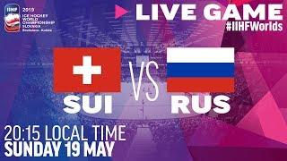 Switzerland vs. Russia | Full Game | 2019 IIHF Ice Hockey World Championship