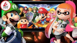 Nintendo Direct Reaction - DISCUSSION REVIEW! Smash Bros Switch, Splatoon 2 DLC, Luigi
