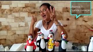 Gambar cover COMO FAZER PINGUINS COM BISCUIT - Reutilizando vidro de leite de coco(Parte 1)