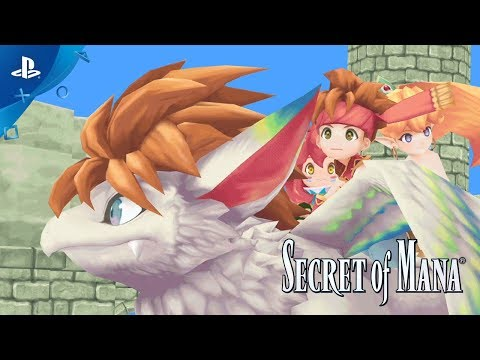 Secret of Mana - Announcement Trailer | PS4, PS VITA