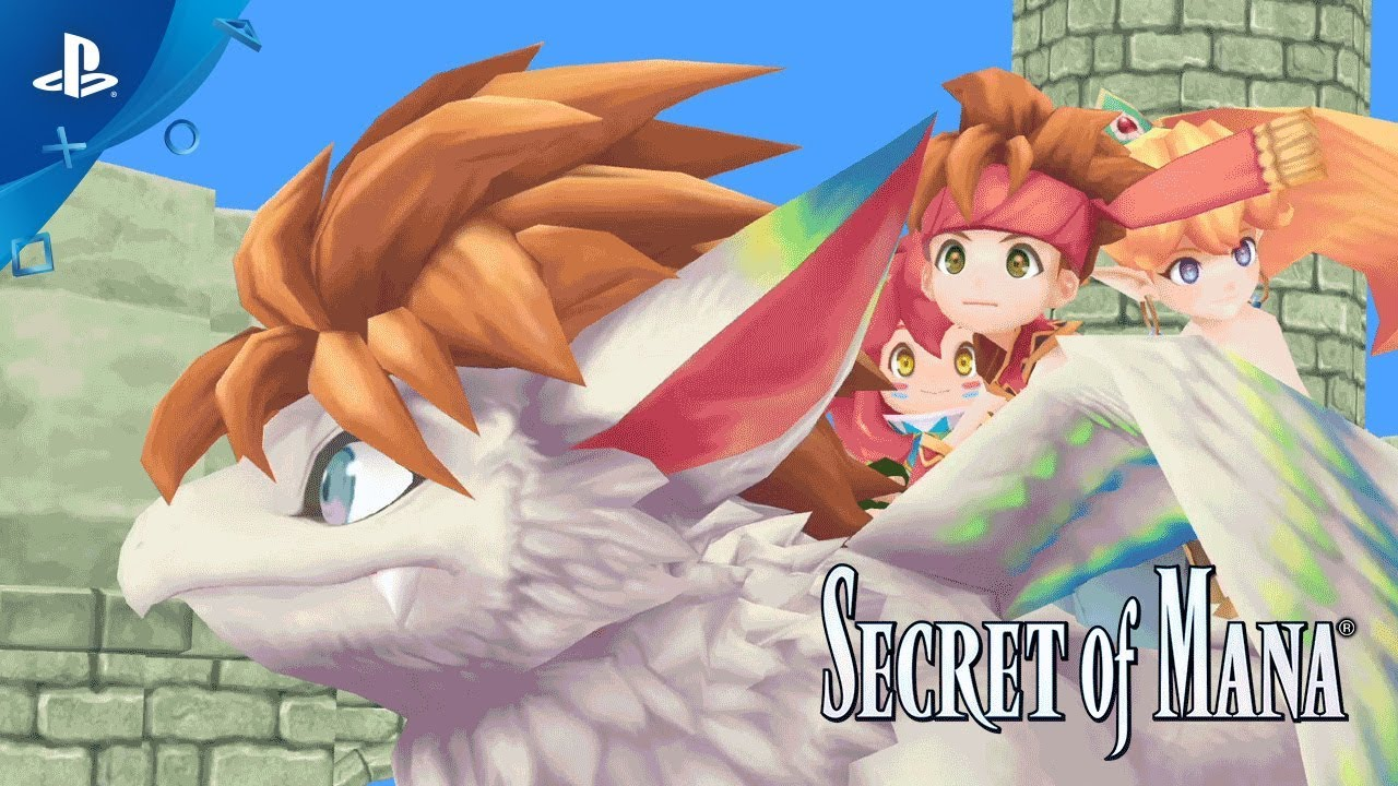 Secret of Mana Remake Announced For PS4, Vita And Steam