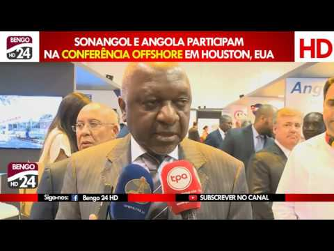 Angola e Sonagol participam na conferência Offshore em Houston, Texas, EUA