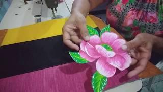 Tapete de retalhão colorido –  Passo a passo