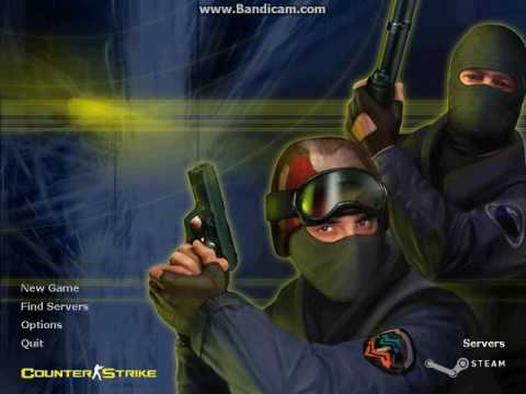 Counter strike 1.6 main menu theme