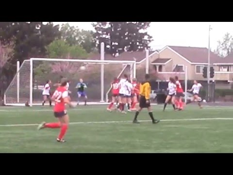 160313 Claire Dworsky MarinFC #49 vs  SJ Crossfire Red
