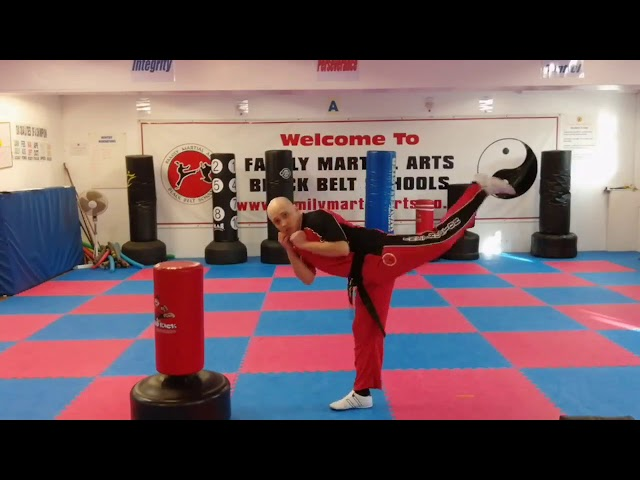 Mr Tandoh of Family Martial Arts, tips to help you improve your balance