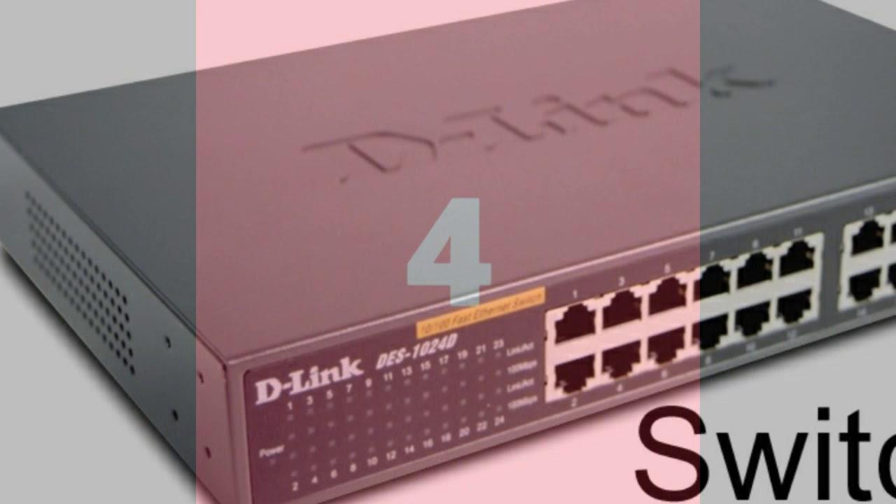 Penjelasan Singkat Tentang Perangkat Jaringan Switch Hub Bridge