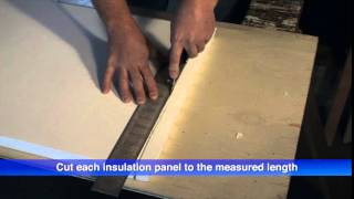 Insulfoam Garage Door Insulation Kit- Installation Instructions