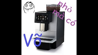 REVIEW Máy Pha Cà Phê Tự Động Dr.Coffee