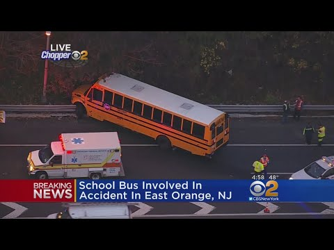 School Bus Involved In Accident In East Orange, NJ