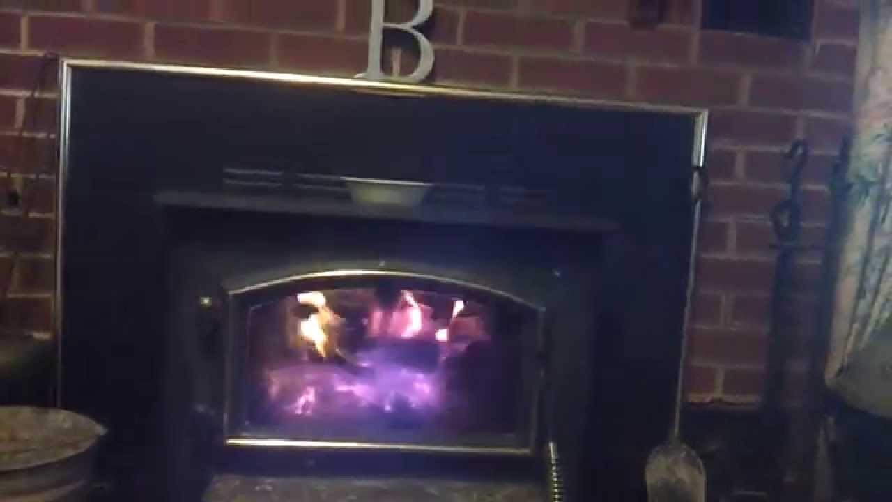 our new quadra fire fireplace insert youtube