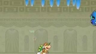 Super Paper Mario Boss Battle: Bonechill
