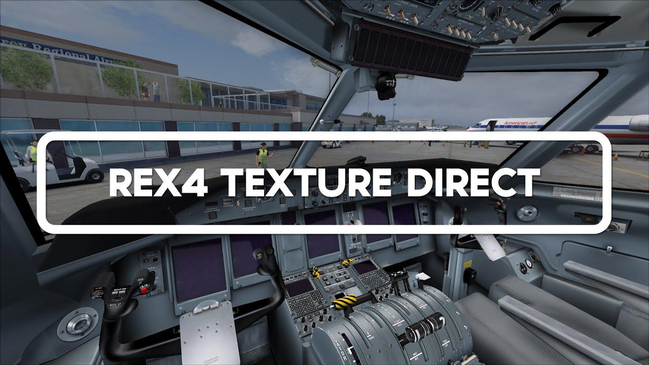 ENHANCE YOUR SIM #2 - REX4 Texture Direct