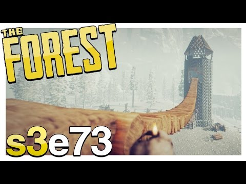 TOWER BRIDGE | The Forest Gameplay S3E73 (Alpha v0.57)