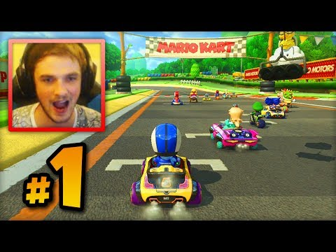 "Mario Kart 8 ONLINE multiplayer - LIVE w/ Ali-A #1 - ""FIRST RACES!"""