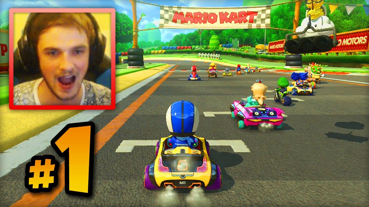 mario kart 8 online multiplayer live w ali a 1 first races