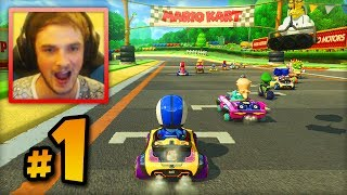 """Mario Kart 8 ONLINE multiplayer - LIVE w/ Ali-A #1 - """"FIRST RACES!"""""""