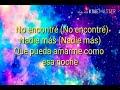 Una noche Saak - Jorge Blanco (LETRA)