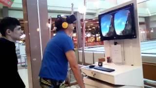 Виртуальные очки, ржака прикол ))))