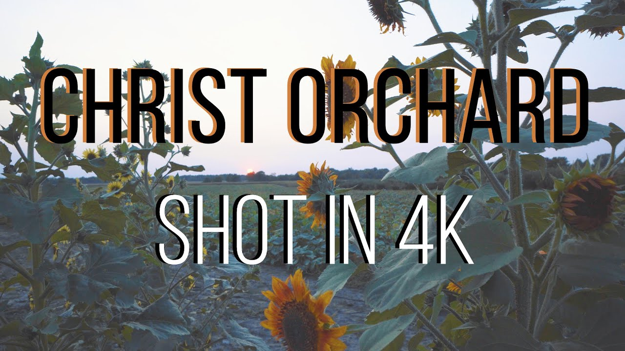 Christ Orchard 2020 (Shot in 4K)